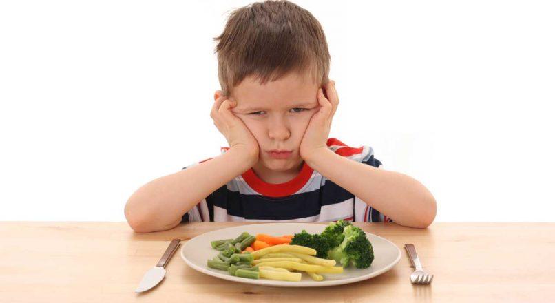 عکس از حساسیت غذایی کودکان